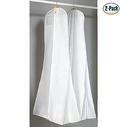 4a0a8a625 Wankd - Bolsas de Tela no Tejida para Vestidos de Boda, a Prueba de Polvo