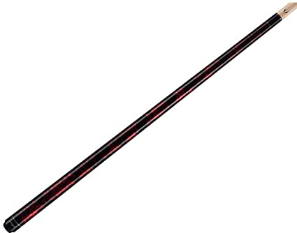 Lifetime Warranty! Valhalla by Viking 2 Piece Pool Cue with case Mahogany