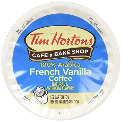Tim Hortons Single Serve RealCup - French Vanilla Coffee Cups - 12 ct