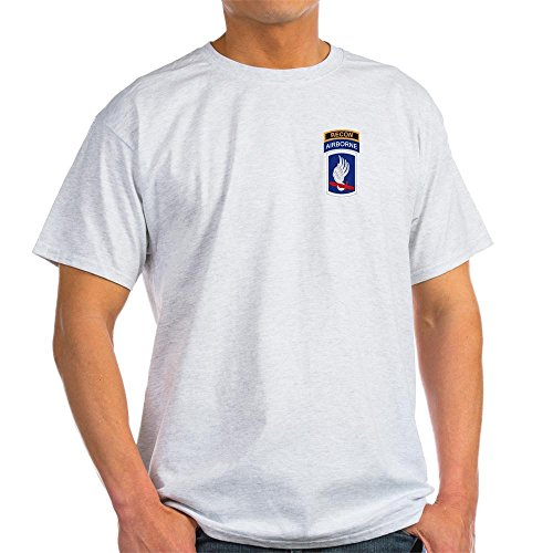 CafePress 173rd ABN with Recon Tab Light T-Shirt 100% Cotton T-Shirt Ash Grey ()