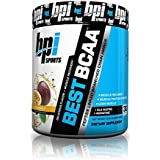 BPI Sports BCAA Peptide Linked Chain Amino Energy Powder Passion Fruit 10.58-Ounce