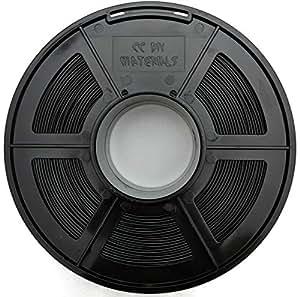 "CC DIY -""ABS"" 1.75mm 3D Printer Filament 1kg Spool Dimensional Accuracy +/- 0.02 mm (Black)"