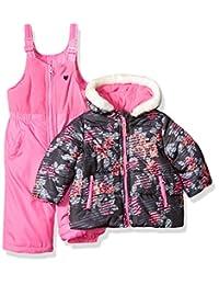 OshKosh baby-girls Baby Infant Heavyweight 2 Pc Printed Snowsuit