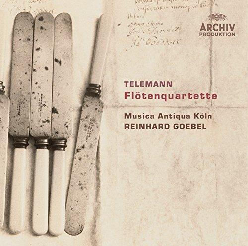Telemann: Flute Quartet In G Minor, TWV 43 g4 - 1. (Telemann Flute)