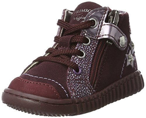Primigi Baby Girls' Psm 8029 Low-Top Sneakers, Red (Vino/Porpora), 4.5 UK
