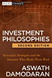 Investment Philosophies, Aswath Damodaran, 1118011511