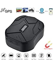 GPS Tracker,10000mah Magnetic GPS Car Tracker Locator Realtime Tracking Device Waterproof 150 Days Standby Tracker Mini Portable Tracker Real Time Vehicle Motorcycles Trucks TK905B