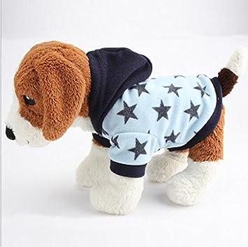 Perros Unido fashional terciopelo Star perro sudadera ...