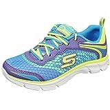 Skechers Infant/toddler Girl's Sweet Kicks Lavender/multi Running Athletic Shoes (13.5 M US Little Kid, Lavender/Multi)