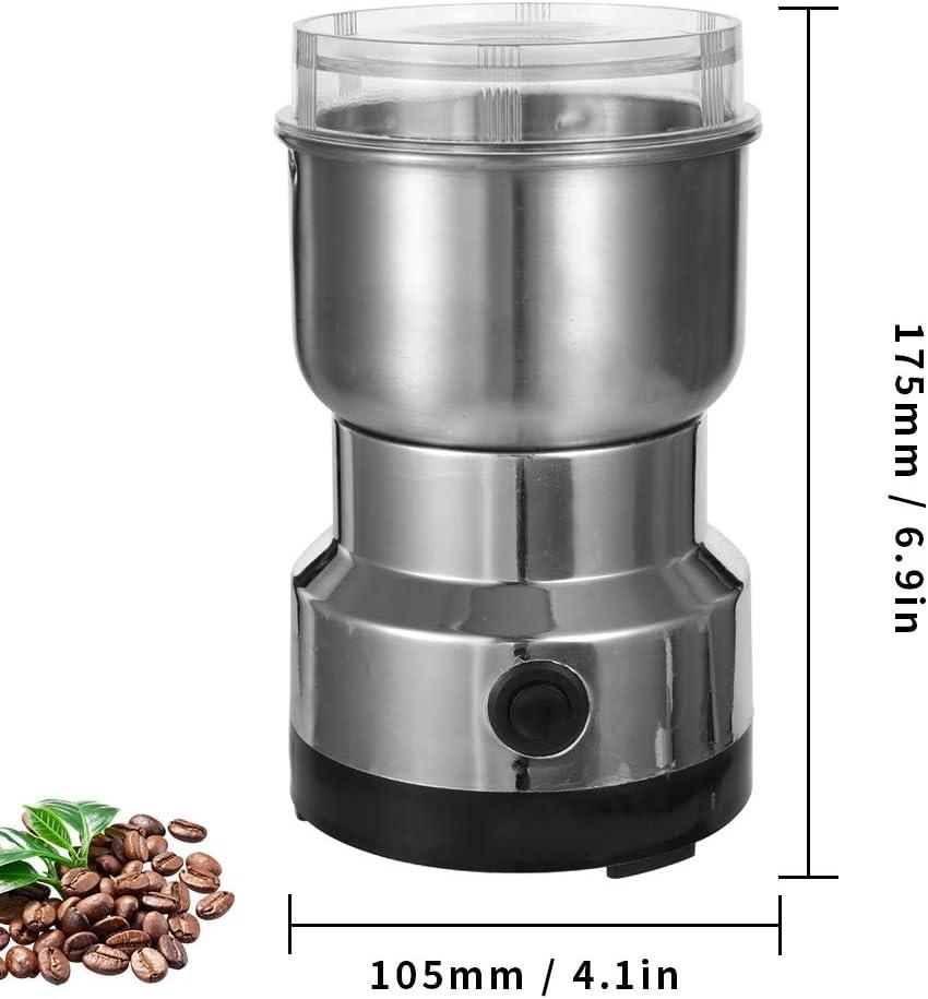 M/élangeurs /Électriques de Broyeur de Haricot de Machine /À Caf/é /Électrique de 150W 300Ml pour la Machine de Meulage de Grains de Maison de Bureau de Cuisine Baugger Broyeur /Électrique 150W