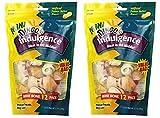 Cheap Dingo Indulgence Mini Bones, Peanut Butter Flavor, 2 Pack of 12-Count
