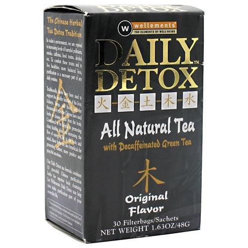 Daily Detox Tea, Original , 30 bag ( Multi-Pack) (30 Bag Daily Detox)