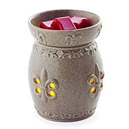 Candle Warmers Etc. Flickering Fragrance Warmer, French Lily