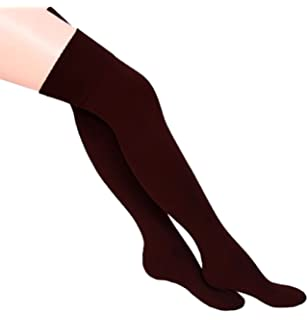 d0fba9c6cfa4ce Ladies Stripe Over the Knee High Socks Women Referee Fancy Cotton  Accessories