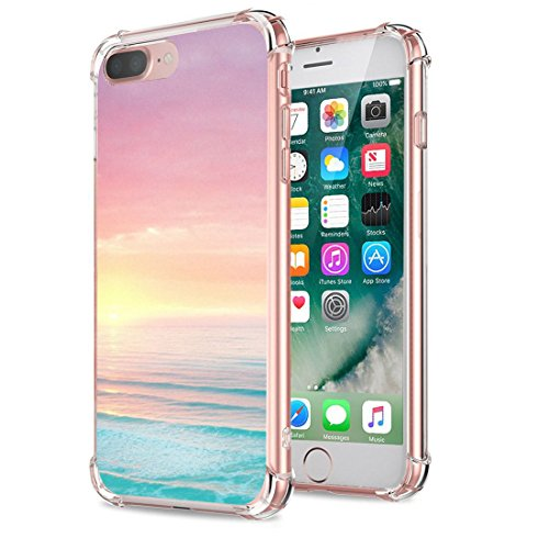 Price comparison product image Beryerbi iPhone 7 Plus Case Soft Flexible TPU Case with Air Cushion Protection for Apple 7 Plus (4, iPhone 7 Plus)