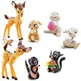 Disney Exclusive 7 Piece Mini PVC Bambi Collector Set