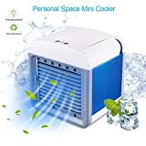 Space Cooler, Xoolover Personal Air Cooler Air Purifier Humidifier 3 in 1, 3