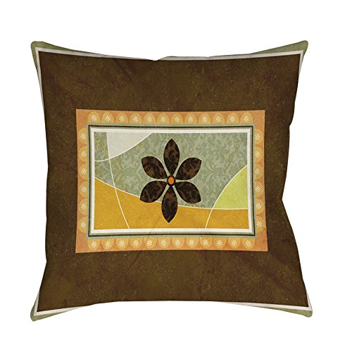 Thumbprintz Graphic Garden Sabrina Indoor/ Outdoor Throw Pillow 16 x 16