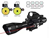 Best Ar 15 Scopes - MidTen Tactical Rifle scope 4-16x50 Illuminated Reticle Review