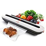 White Dolphin Food Vacuum Sealer Machine for Kitchen Food Storage Sous Vide Sealing