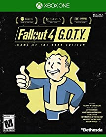 Amazon com: Fallout 4 Game of The Year Edition - Xbox One