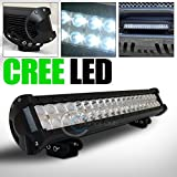 1PC 120W CREE LED LIGHT BAR SPOT FLOOD OFFROAD BULL GUARD ROOF BUMPER MOUNT GA1 by R&L Racing