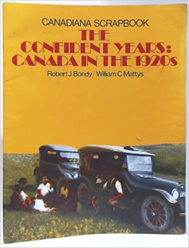 The confident years: Canada in the 1920s : teacher's guide
