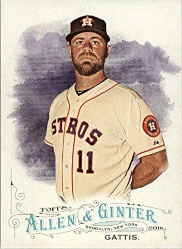 2016 Topps Allen and Ginter Baseball #118 Evan Gattis Houston - Houston Album Photo Astros