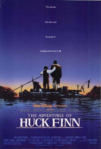 huckleberry finn poster