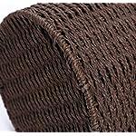 lqgpsx-Bote-de-Basura-para-Tejido-de-bambu-y-ratan-sin-Tapa-Papelera-Contenedor-de-Basura-de-Gran-Capacidad-Adecuado-para-Interiores-y-exteriores-19-25-26-Marron