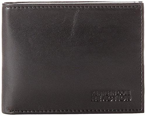 Kenneth Cole REACTION Men's Passcase Wallet,Black,One Size