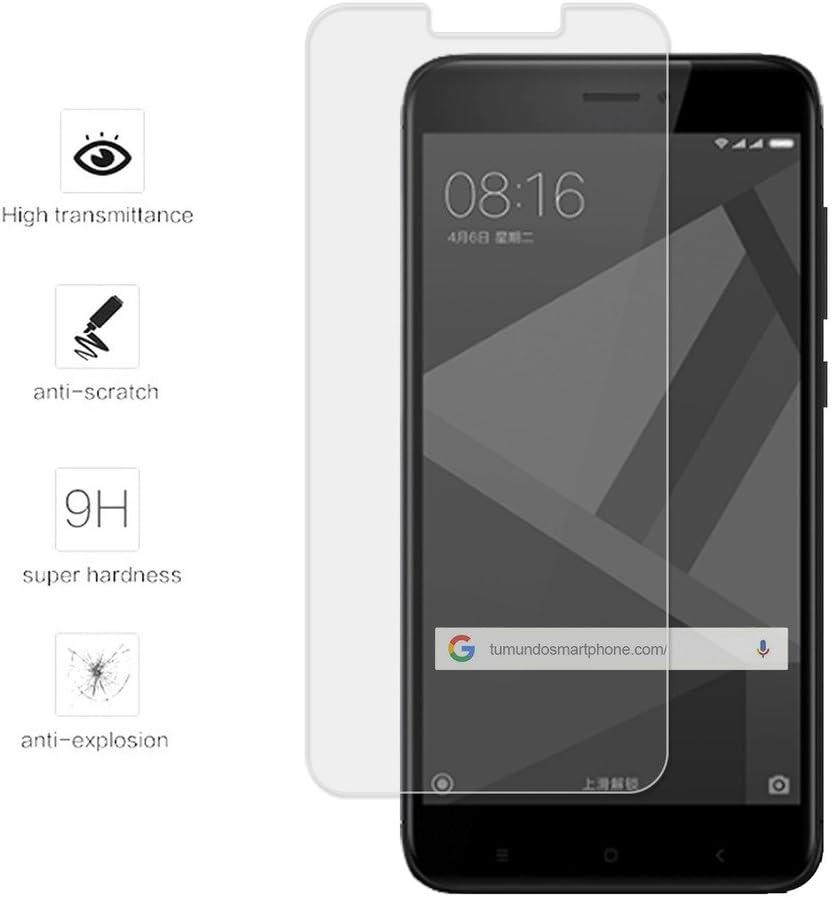 Tumundosmartphone Protector Cristal Templado para XIAOMI REDMI 4X ...