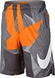 Nike Boys Dry Printed Training Short Grey Small