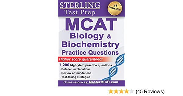 Sterling MCAT Biology & Biochemistry Practice Questions: High Yield