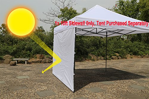 AbcCanopy 10' Instant Canopy Sunwall - Accessory Only
