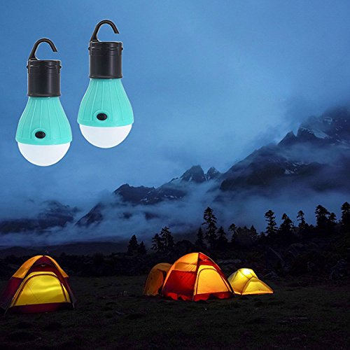 XENO-Soft Light Outdoor Hanging LED Camping Tent Light Bulb Fishing Lantern Lamp