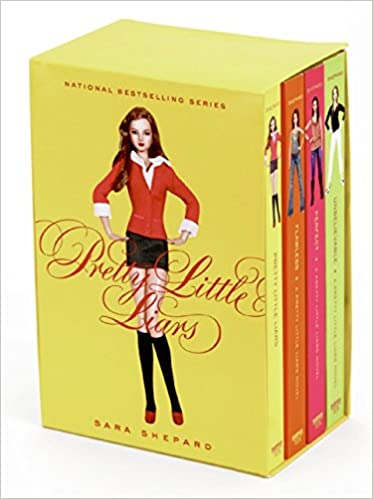 Amazon com: Pretty Little Liars Box Set: Books 1 to 4