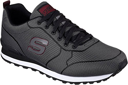 Skechers Men's OG Burris Fashion Sneakers Black/Grey D(M) US Black/Grey big sale online outlet locations free shipping Manchester cheap price factory outlet axnMF6s3