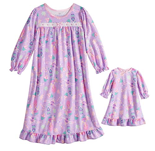 The Nutcracker and The Four Realms Nightgown & Matching Doll Nightgown (3T)