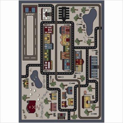 Joy Carpets Kid Essentials Active Play & Juvenile Tiny Town