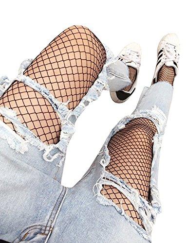 Fishnet Stockings Baifern Pantyhose Waisted