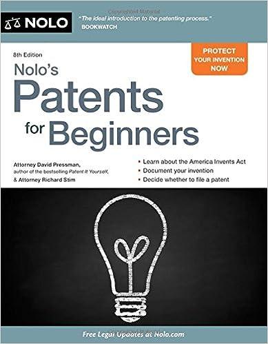 """""IBOOK"""" Nolo's Patents For Beginners: Quick & Legal. Pastebin Centro parrafo document Premier mapping Captain"