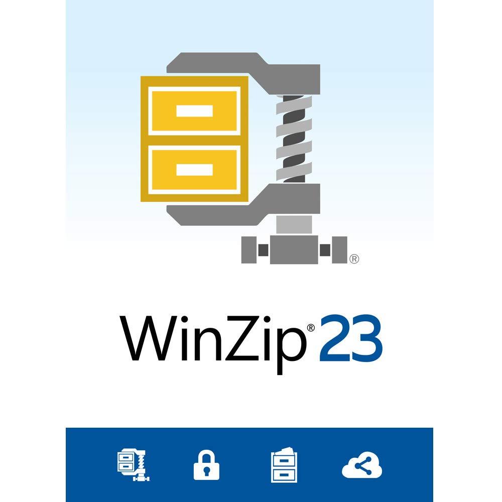 WinZip 23 Standard - File Compression & Decompression [PC Download] by Corel