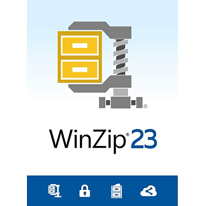 WinZip 23 Standard - File Compression & Decompression [PC Download]