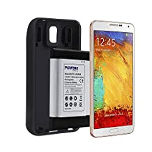 Perfine 9600mAh Samsung Galaxy Note 3/N9000 Extended Battery,Full NFC Support With Rugged TPU Case