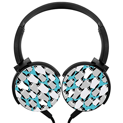 Penguin Stereo Portable Headphone Wired Headset -