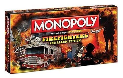 Gesellschaftsspiele Monopoly FIREFIGHTERS