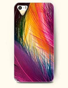 diy phone caseiPhone 5/5S Case, SevenArc Phone Cover Series for Apple iPhone 5 5S Case (DOESN'T FIT iPhone 5C)-- Colorful Feathers...diy phone case