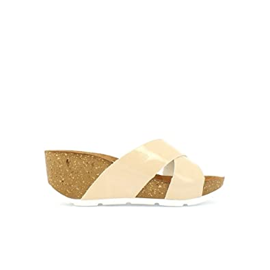 9a84156e934 Yokono Women's Bari Charol Platform Sandals