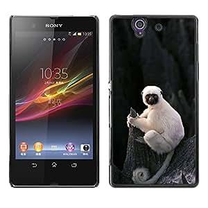 Cubierta protectora del caso de Shell Plástico || Sony Xperia Z L36H C6602 C6603 C6606 C6616 || Monkey Ape Madagascar @XPTECH
